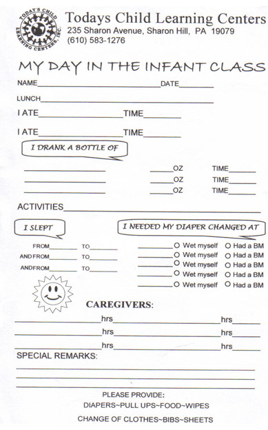 daycare activity sheet people davidjoel co